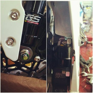 Image of Grom to Ruckus fender bracket