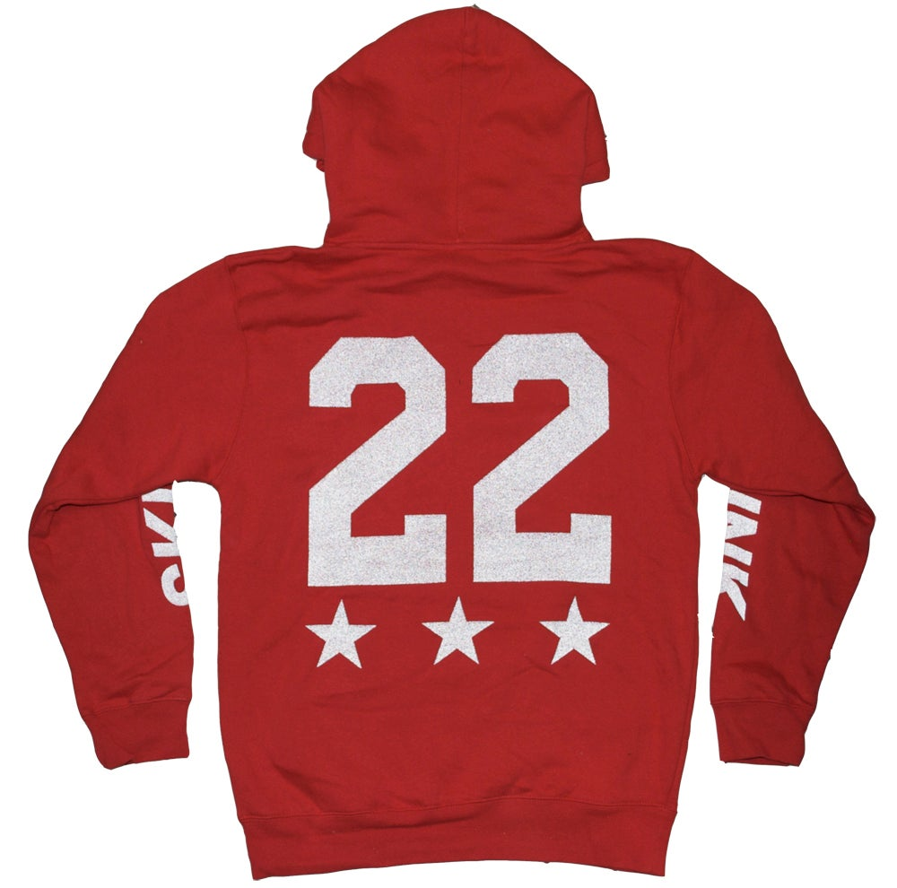 Image of 3M Reflective Hoodie | RED