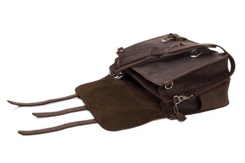 Image of Super Large Multi-Use Leather Travel Bag, Duffle Bag, Leather Backpack 7072