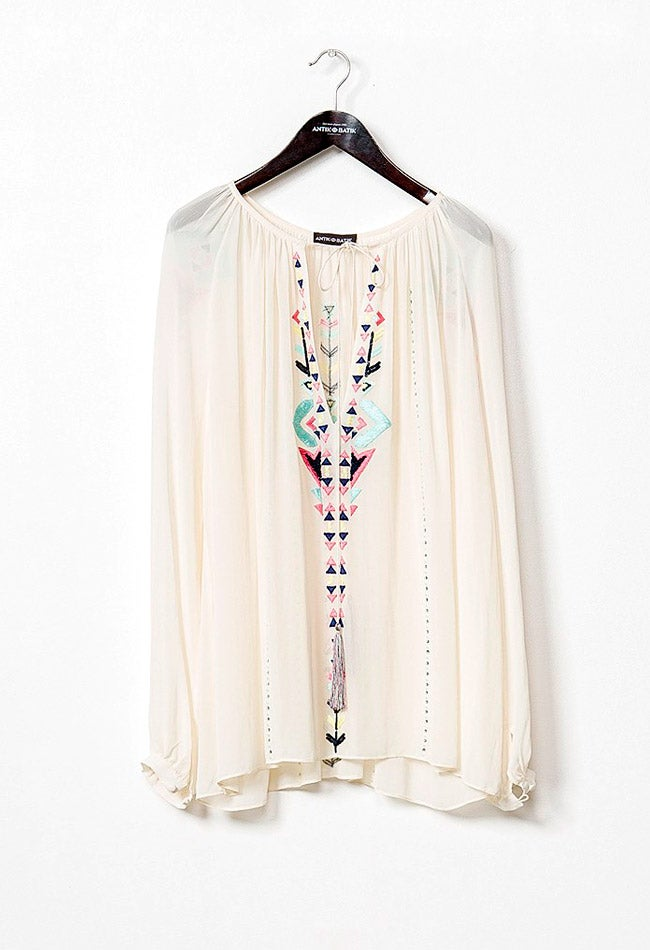 Image of JUNE CREAM BLOUSE