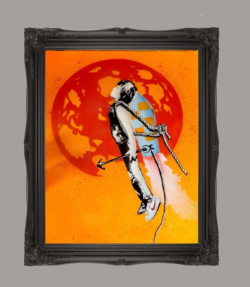 "Image of ""Shoot the Moon"" -Yellow"