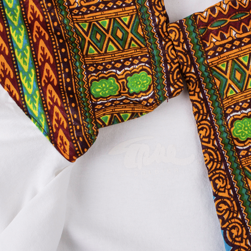Image of DASHIKI  T-shirt White