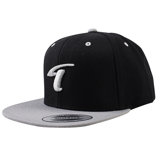 Image of T-Logo Snapback Black-Grey