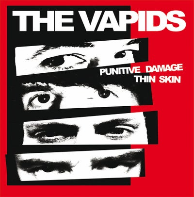 "Image of THE VAPIDS ""Punitive Damage / Thin Skin"" 7"" - OUT NOW!"