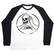 Image of Against Me - Skull Raglan
