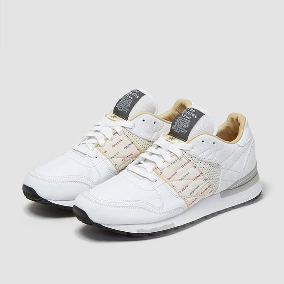 Image of Reebok X Garbstore CL6000 White/ Mid Grey Exclusive