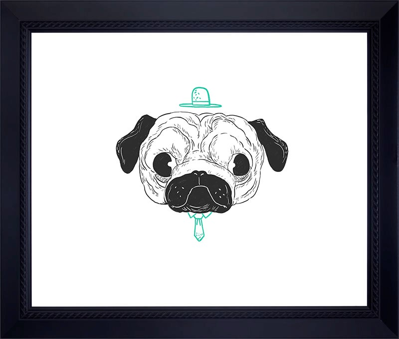 Image of PUG Archival Print (Hand-Signed/Limited Edition-10)