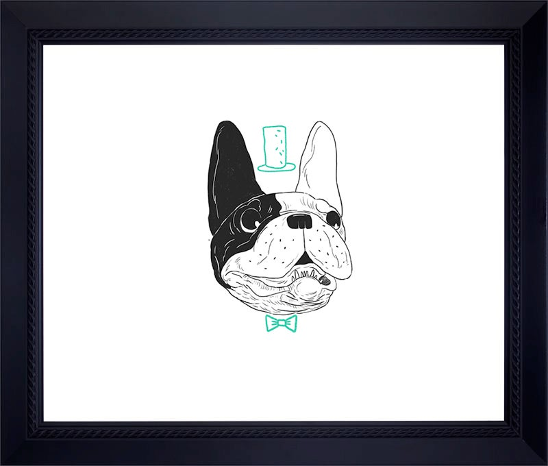 Image of FRENCH BULLDOG Archival Print (Hand-signed/Limited Edition-10)