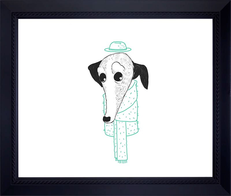 Image of GREYHOUND Archival Print (Hand-signed/Limited Edition-10)