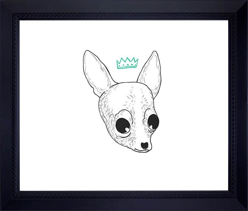 Image of CHIHUAHUA Archival Print (Hand-signed/Limited Edition-10)
