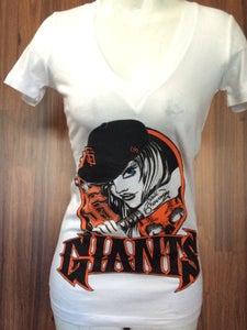 Image of Ladies - SF Giants Bat Girl
