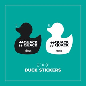 Image of Squeakyclean Duck Sticker