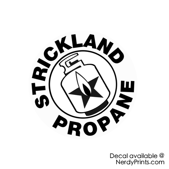Image of Strickland Propane - Vinyl Decal