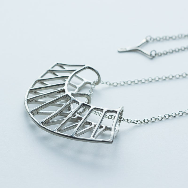 Image of Better Late Than Never Radial Necklace