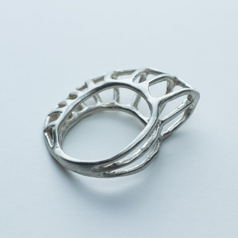Image of Better Late Than Never Nautilus Ring