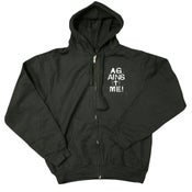 Image of Against Me - Gloves Hoodie