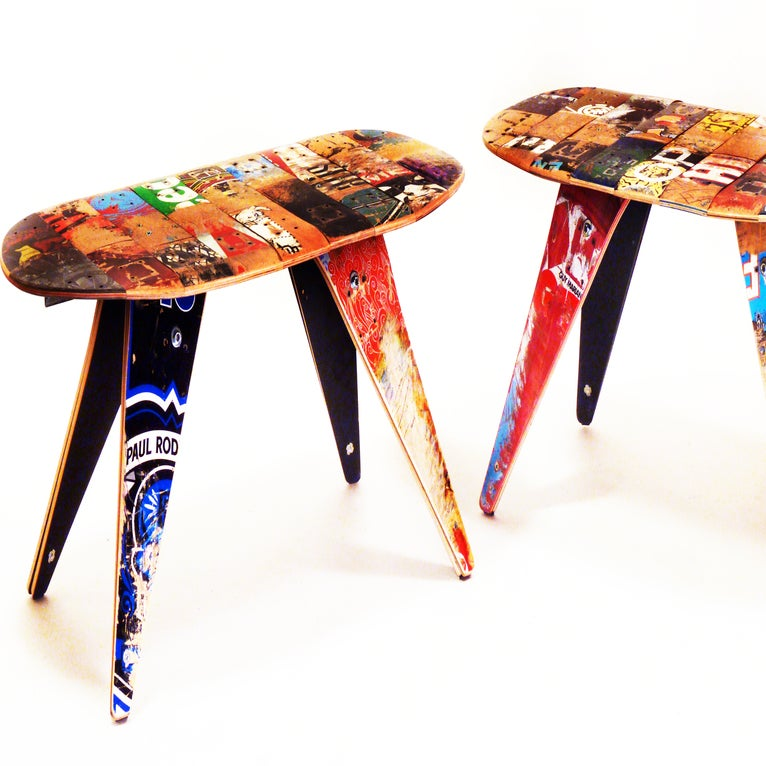Coffee Table Leg Broken: Recycled Skateboard Coffee Table By Deckstool / Recycled