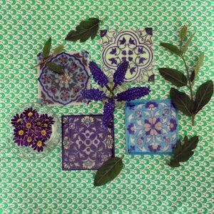 Image of Carreaux indiens décoratifs par 2 ou 4