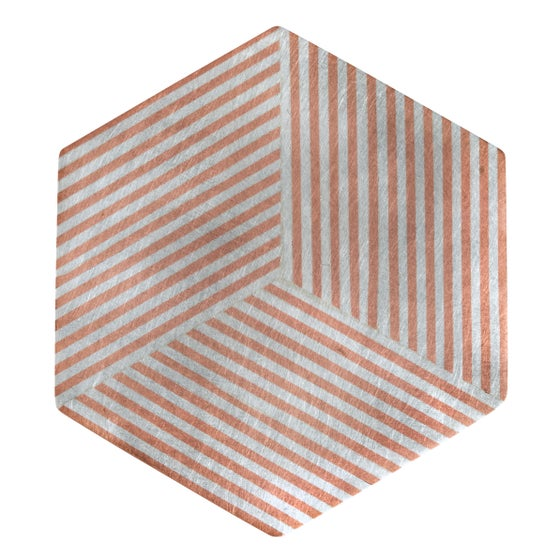 Image of Brooch 'Ply / Hexagon'