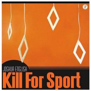 "Image of Joshua English ""Kill For Sport"" LP Black/White Vinyl Record"