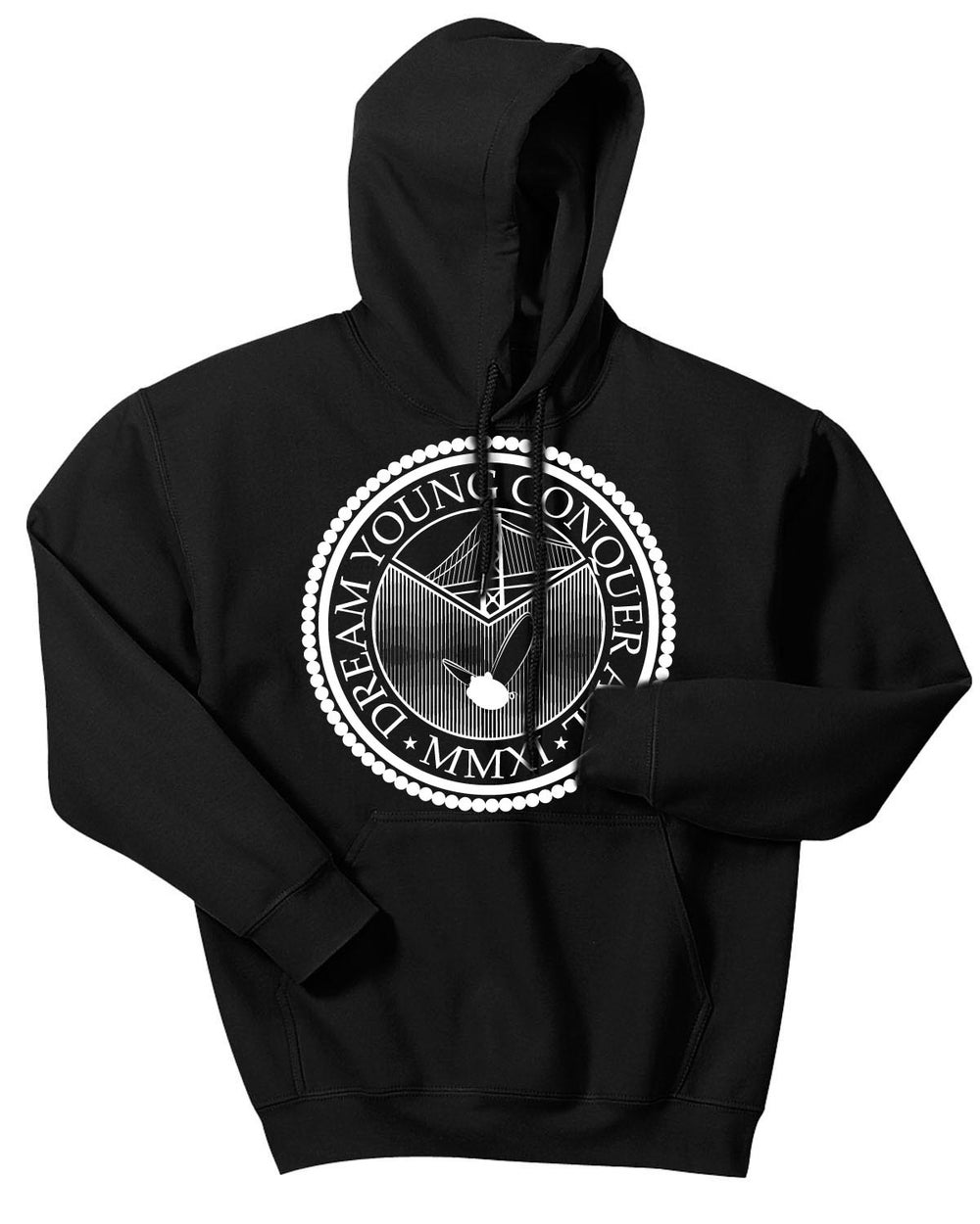 "Image of ""THE SEAL"" BLACK/HOODY"