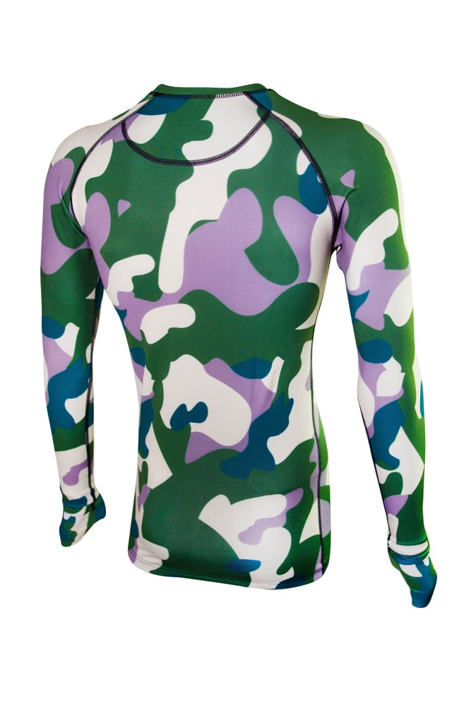 Image of Mens Army Camouflage Thermal Top