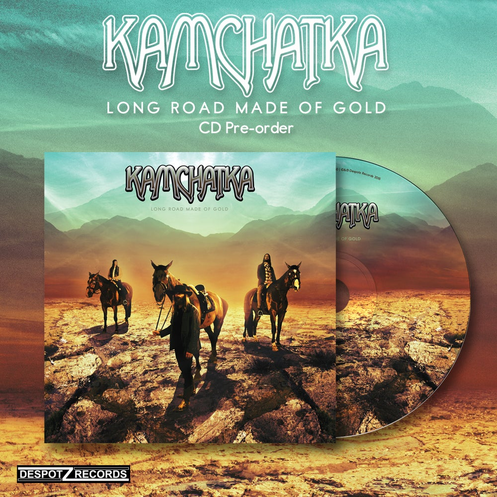 Image of Kamchatka - Long Road Made Of Gold [CD]
