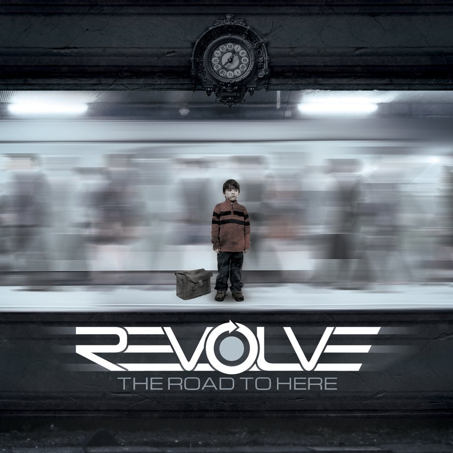 "Image of REVOLVE debut EP ""THE ROAD TO HERE"""