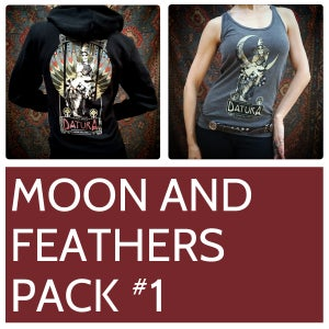Image of Moon and Feathers Pack #1
