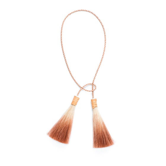 Image of Double Tassel Lariat Necklace (also available as BELT)