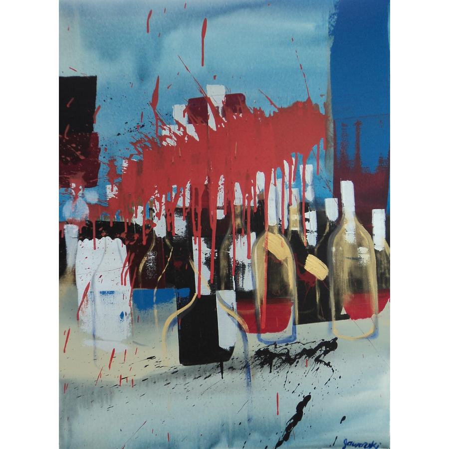 """Image of """"Bottles Blue"""""""