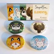 Image of Elemental Pin Set