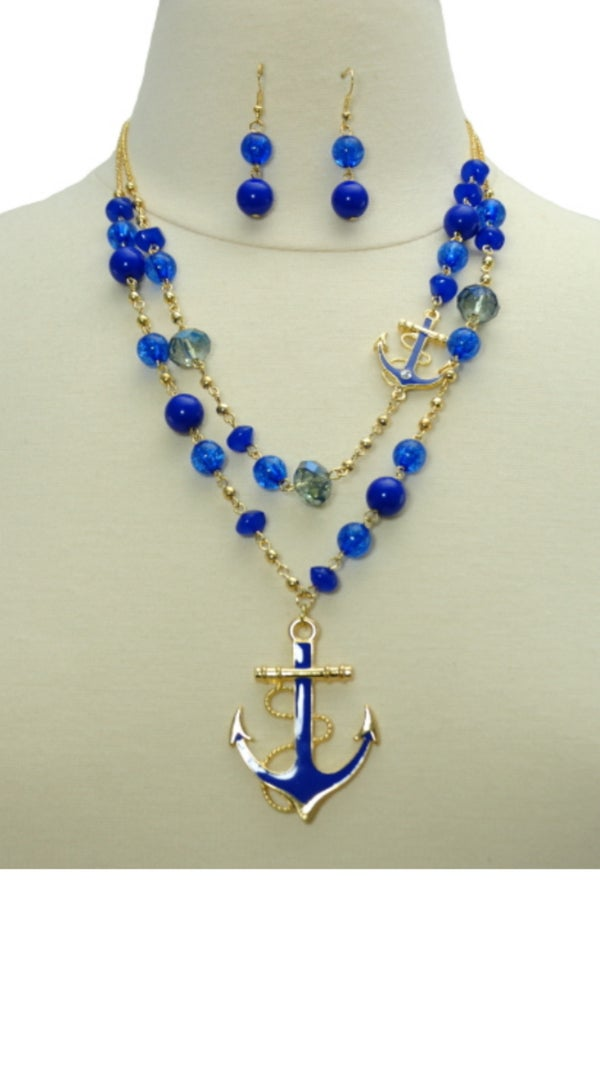 Image of Anchor Necklace Sets