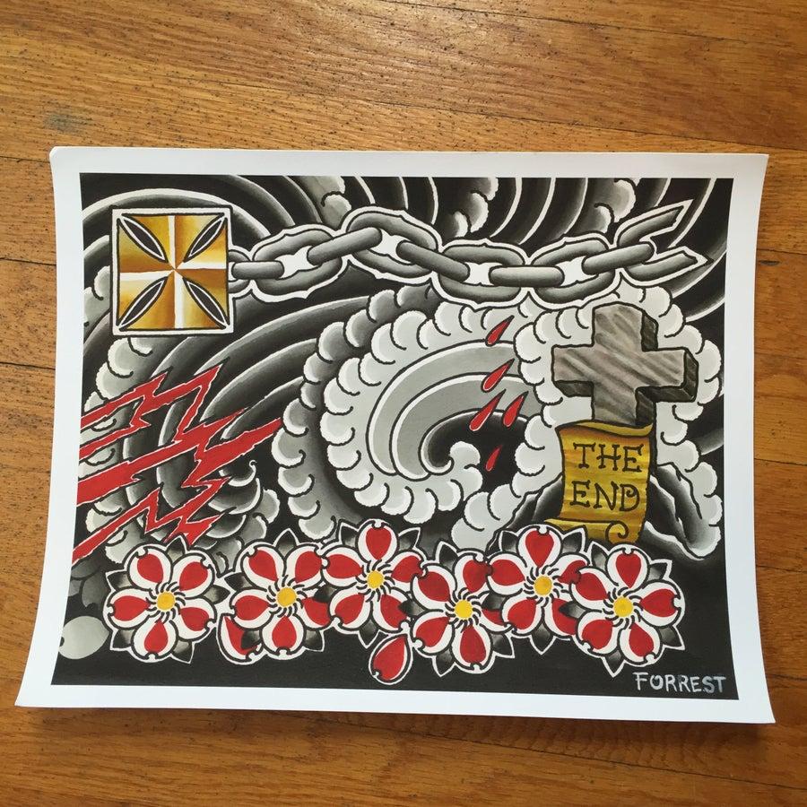 Image of Forrest's ElevenFourteen print.