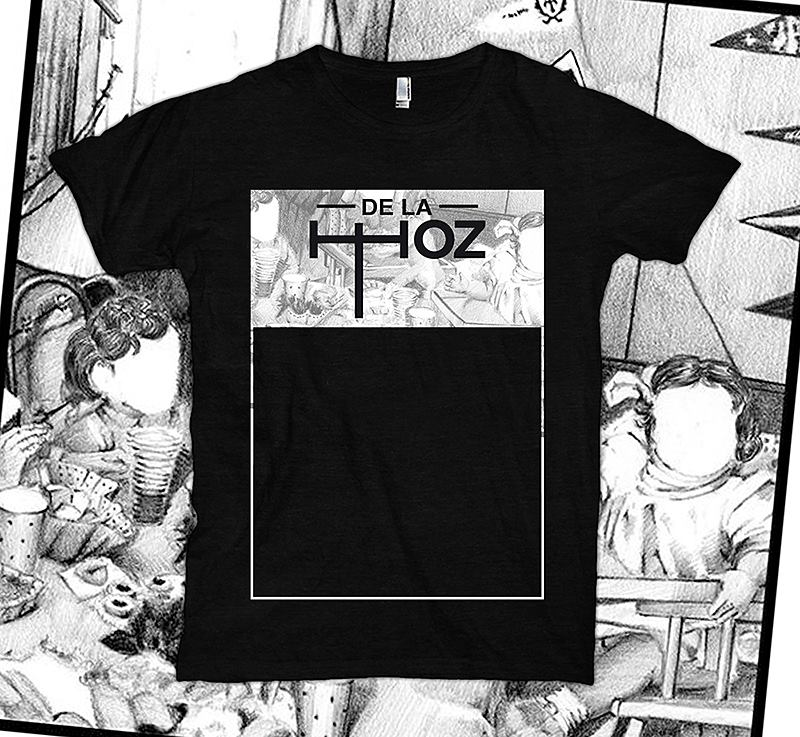 "Image of T Shirt / ""Cover"" BLACK"