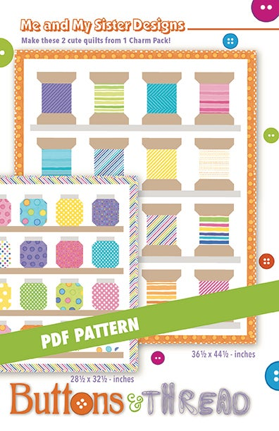 Image of Buttons & Thread PDF pattern