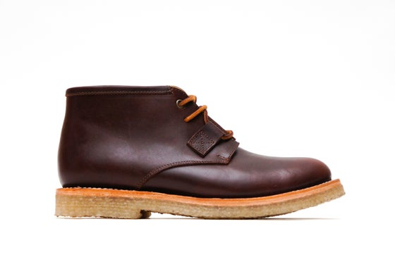 Image of SOMBRA CREPE RED BROWN