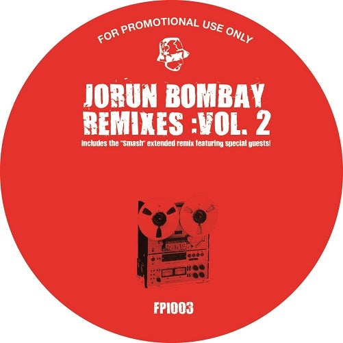 Image of Jorun Bombay - Remixes Volume 2 EP (FPI003)