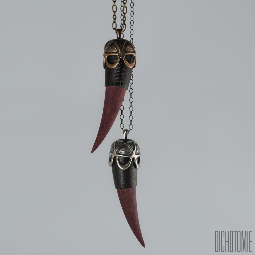 Image of The Left Hand Talisman Pendant in Silver
