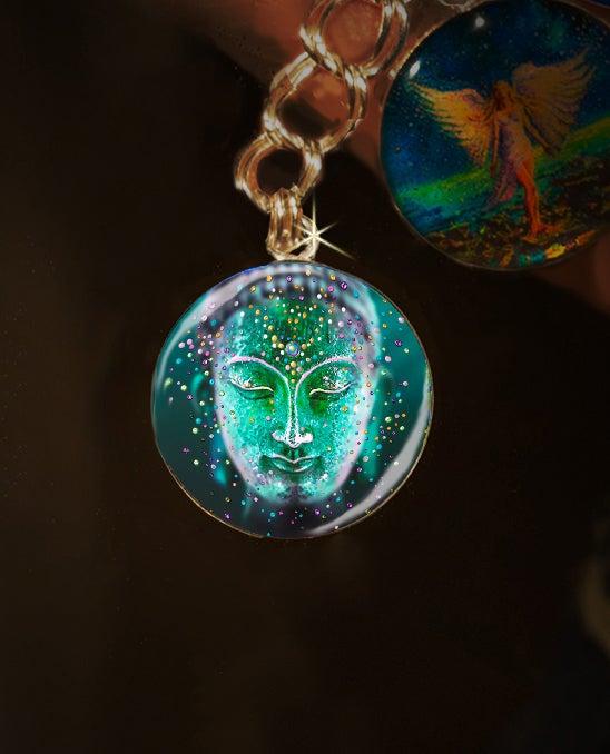 Image of The Jade Buddha Good Luck Energy Charm