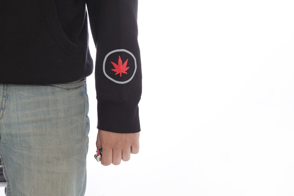 Image of Blunt Hands Hoodie Black
