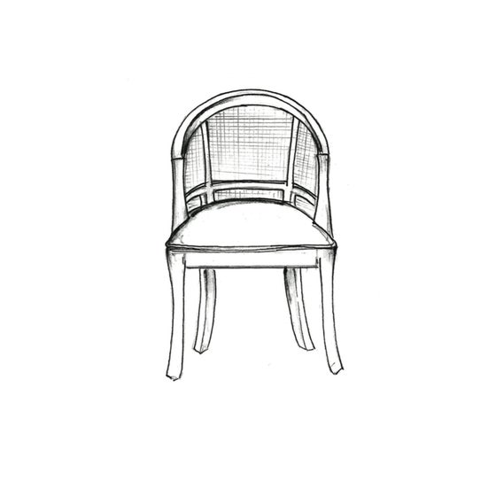 Image of The Carolina Cane Dining Chair