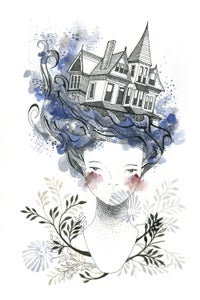 Image of House By The Sea - Print