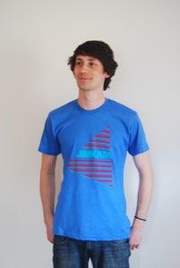 Image of Men's American Apparel Tee BLUE