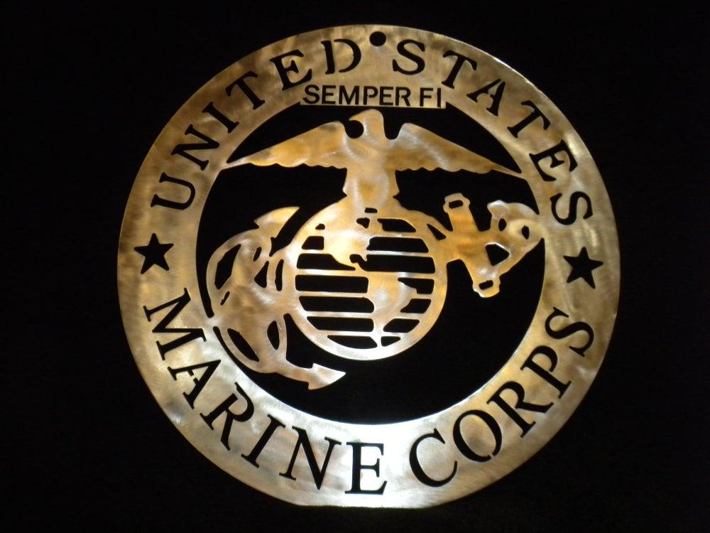 Image of US Marine Corps Military Crest