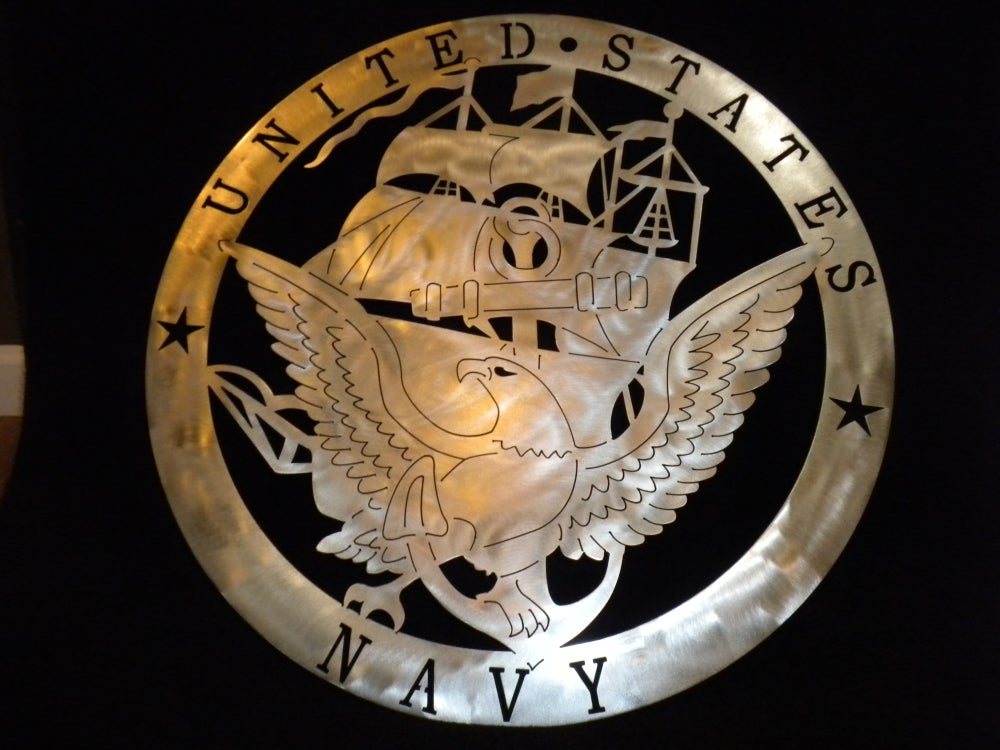 Image of US Navy Military Crest