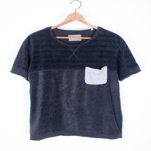 Image of Takahiro Miyashita the Soloist - Border Top Pocket Tee