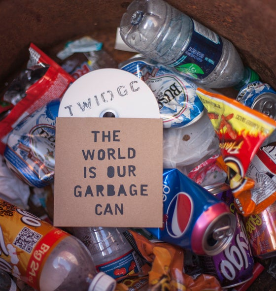 Image of DVD || THE WORLD IS OUR GARBAGE CAN