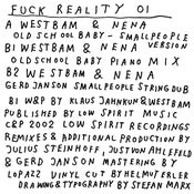 Image of Fuck Reality 01 - Westbam & Nena - Oldschool Baby Versions - 12""