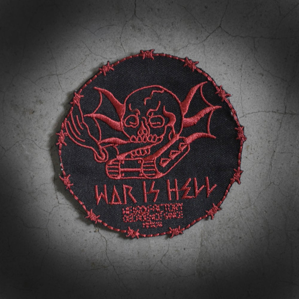 Image of TANK IS WAR - PATCH